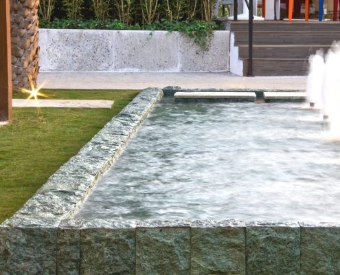 Find out how to clean and care for your green sukabumi stone surfaces.