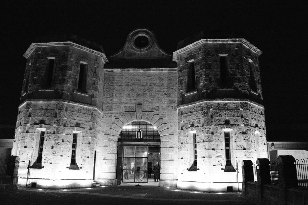 Built of limestone blocks, Fremantle Prison has stood the test of time.