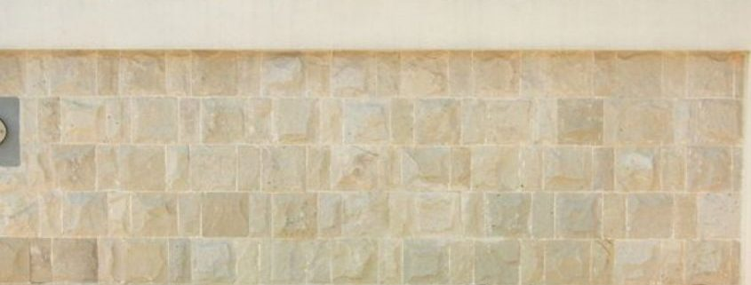 What needs to be front of mind when installing sandstone?